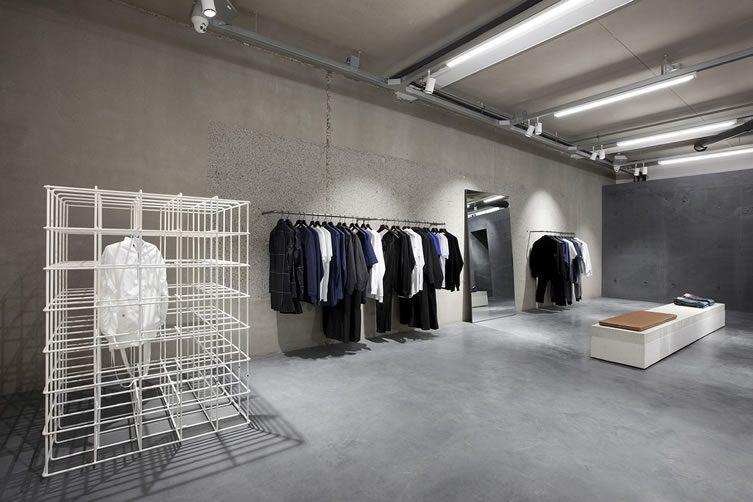 Etq amsterdam flagship store Interior design shops amsterdam