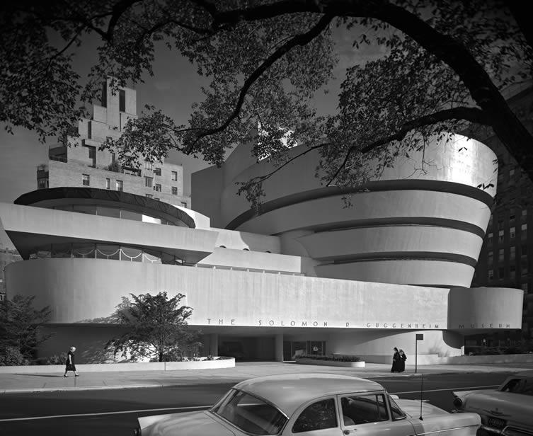 Ezra Stoller, Guggenheim Museum, Frank Lloyd Wright, New York, NY, 1959
