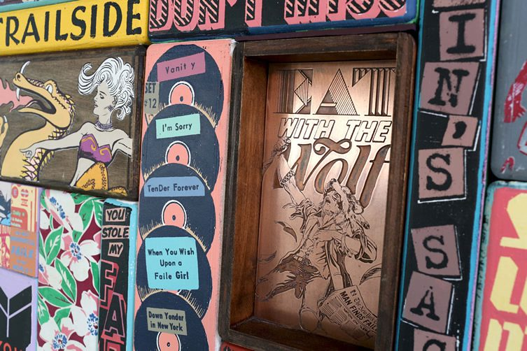 FAILE — Fuel, Fantasy, Freedom at Gallery Hilger NEXT, Vienna