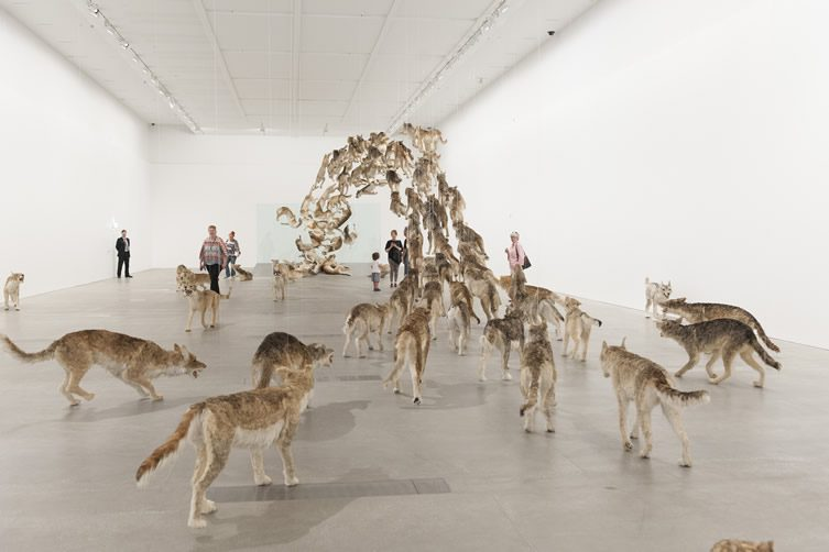 Cai Guo-Qiang — Falling Back to Earth