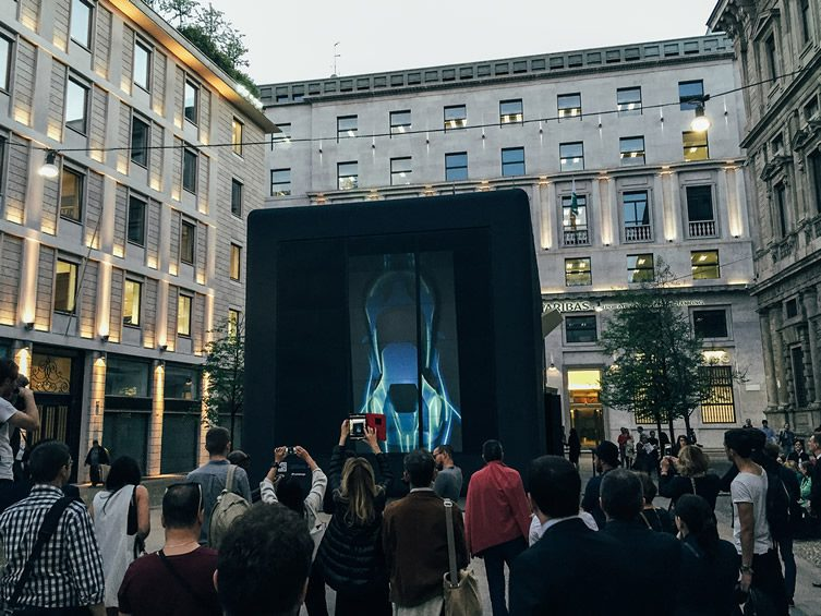 Ford FAVILLA Installation, Milan Design Week 2015