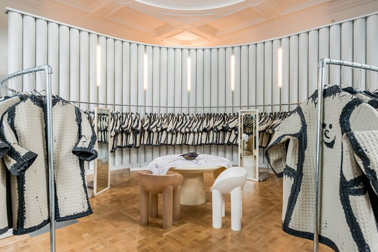 The Cloakroom, Kvadrat & Faye Toogood at the V&A