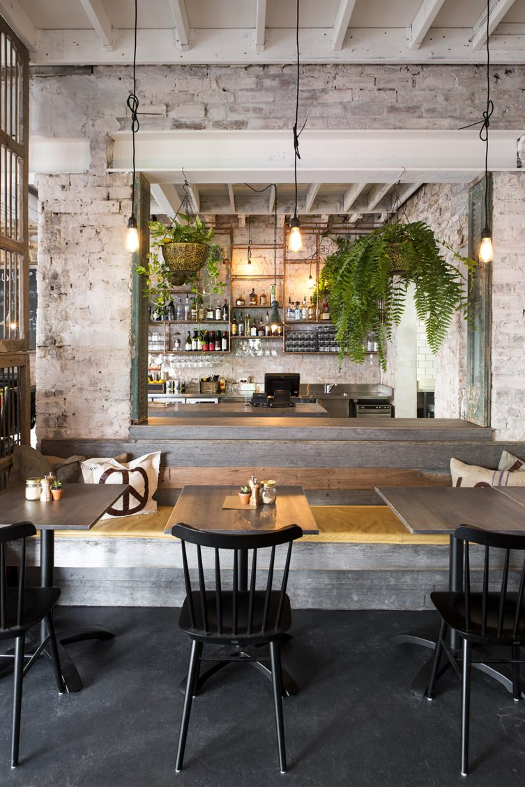 Feast of merit richmond melbourne for Table bar industriel
