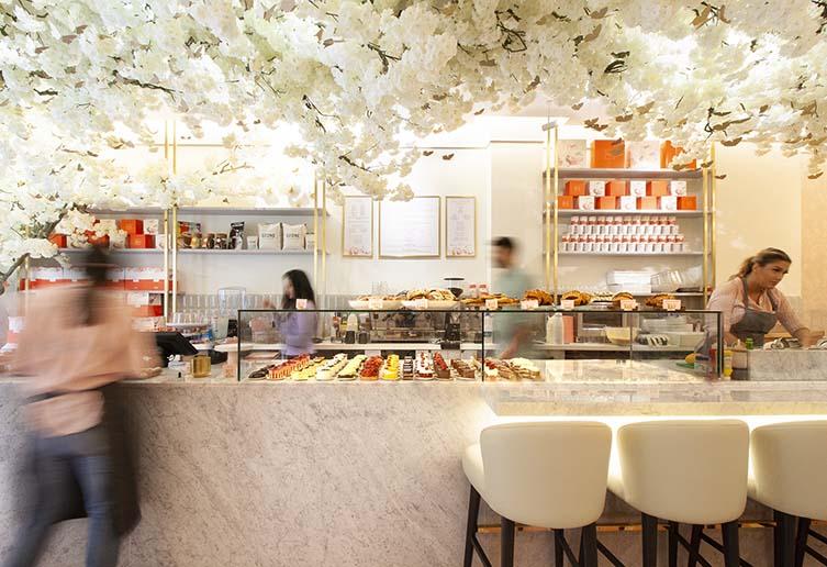 Feya, London Marylebone Café Designed by Shed