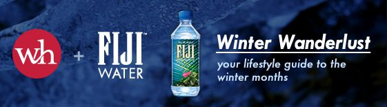 We Heart + FIJI Water: Winter Wanderlust