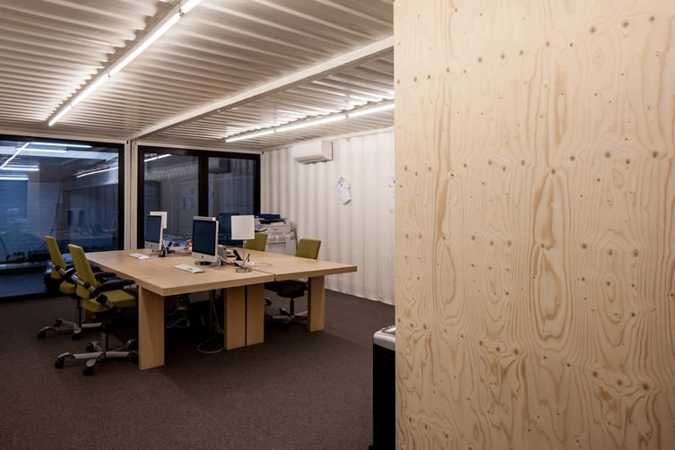 Five AM's Shipping Container Offices