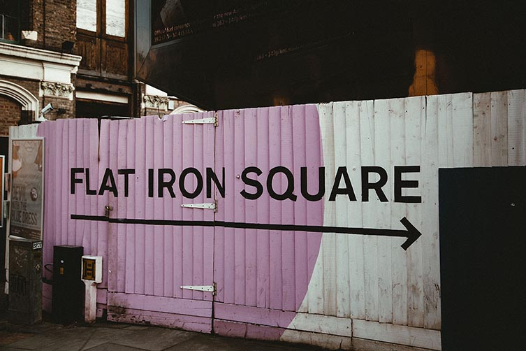 Flat Iron Square Southwark