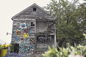 Flower House, Detroit