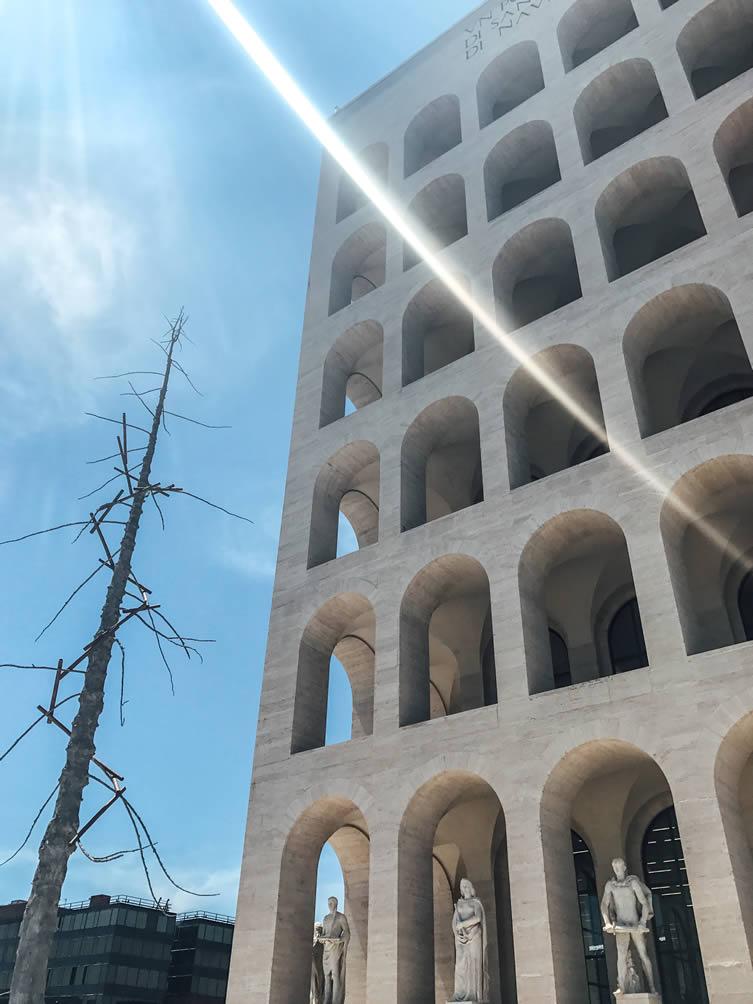 Fendi HQ at Palazzo della Civiltà