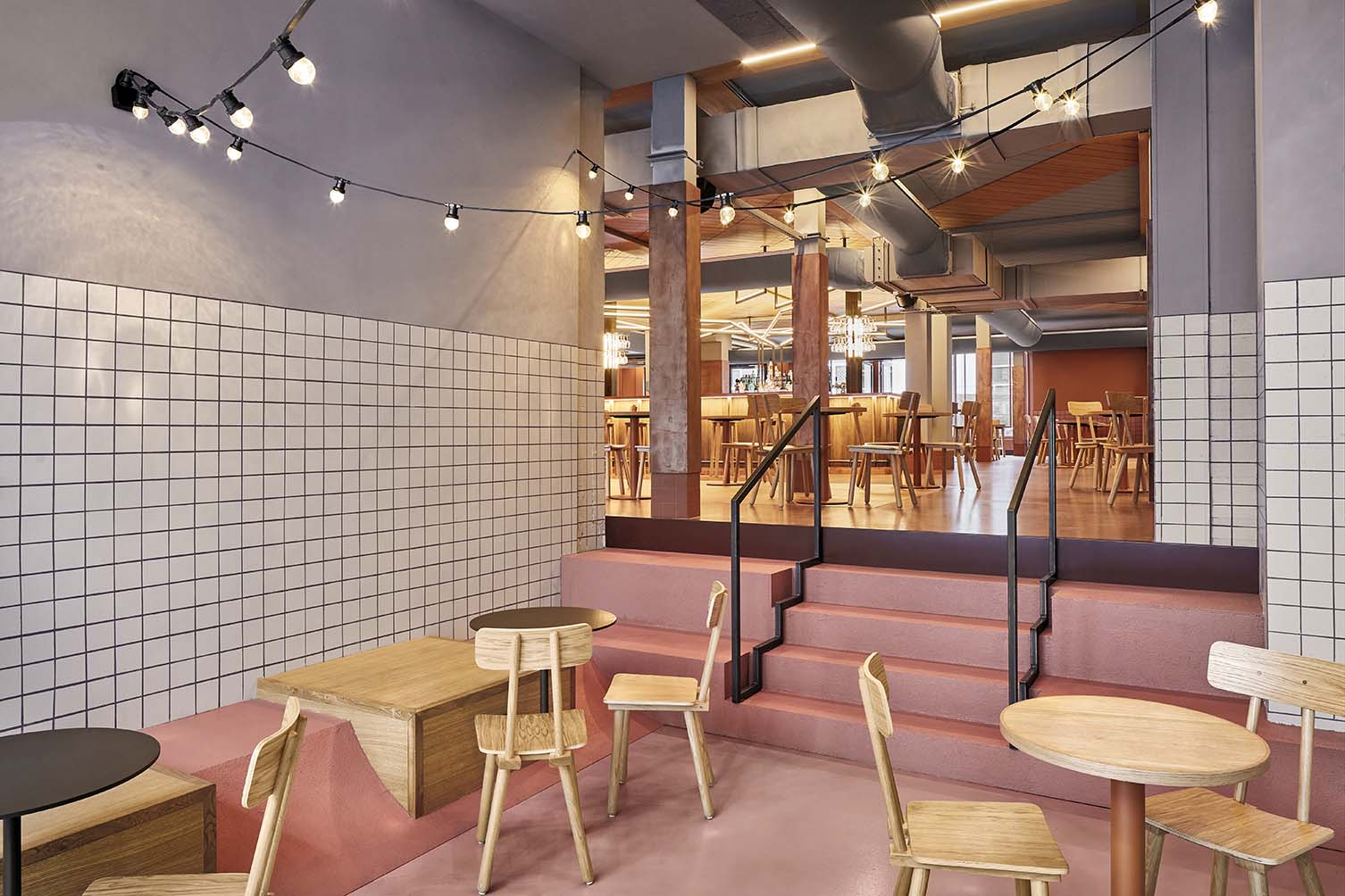 Interior Design Studio Amsterdam foodhallen den haag follows on successes in amsterdam and
