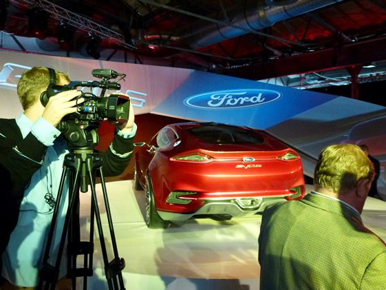 Ford Evos Concept Launch, Berlin