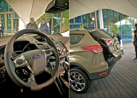 Ford's New Kuga Unveiled in Milan