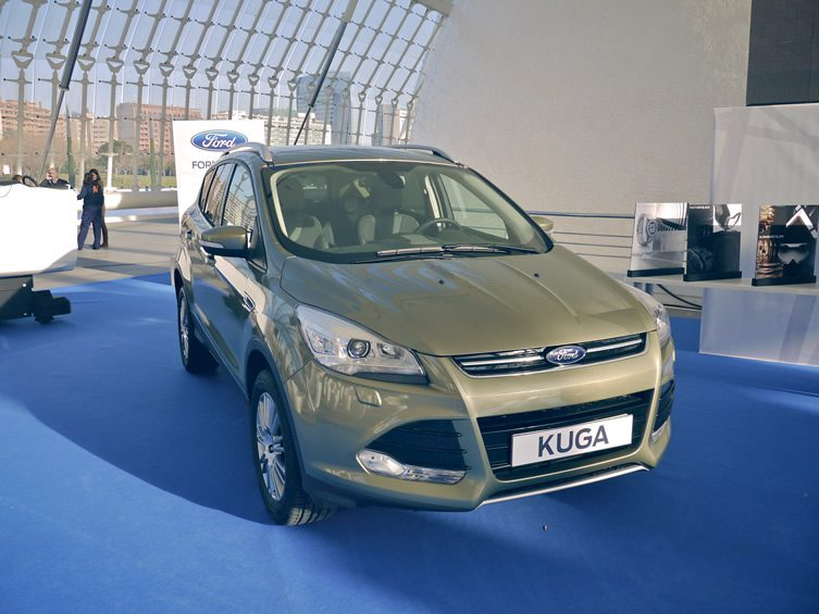 Taking Ford's New Kuga for a Spin in Valencia