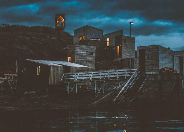 Fordypningsrommet Artist's Retreat, Fleinvær Norway