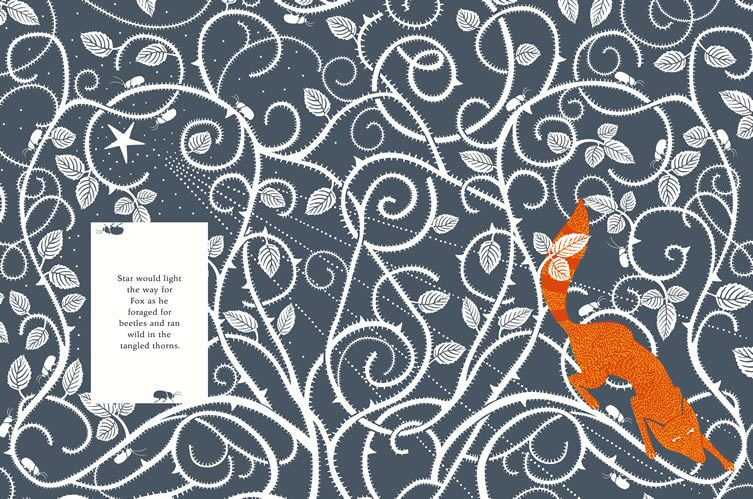 Spreads from The Fox and the Star