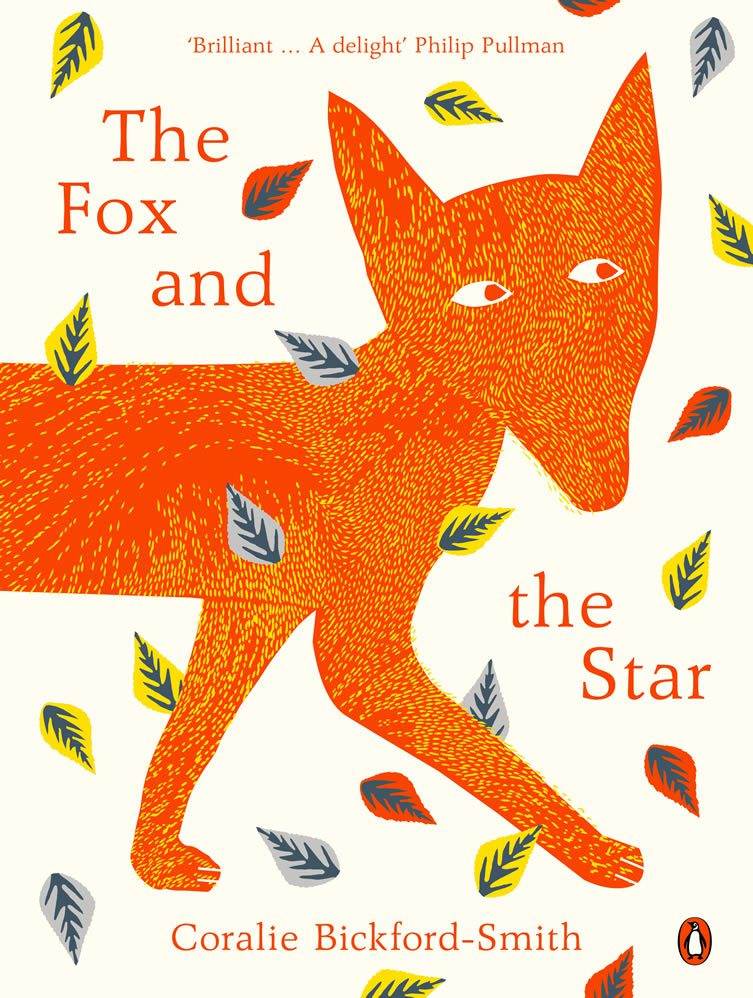 The paperback cover design for The Fox and the Star