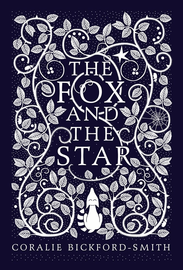 The hardback cover design for The Fox and the Star