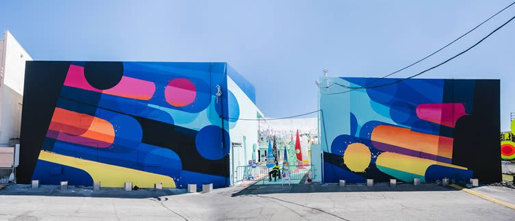Life Is Beautiful Festival 2017; the streets of Downtown Las Vegas transformed into an open-air gallery featuring the best of contemporary visual culture