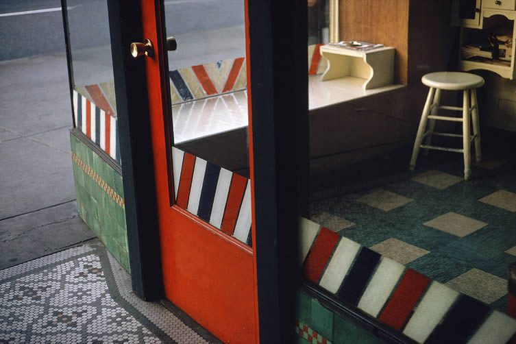 Empty Barber Shop, 1966