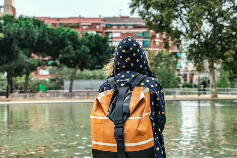 FREITAG gonewithfreitag Borrow Travel Bags Campaign, F512 VOYAGER