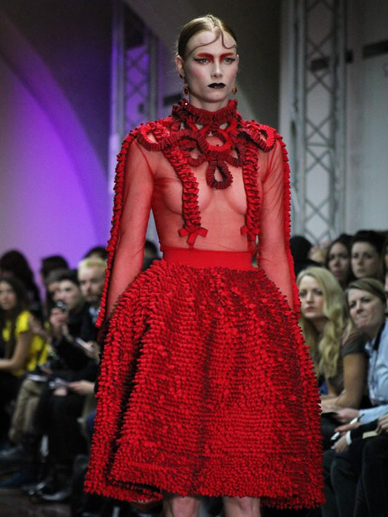 London Fashion Week; Fyodor Golan