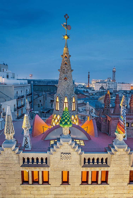 Güell Palace, Barcelona, 1885–1889