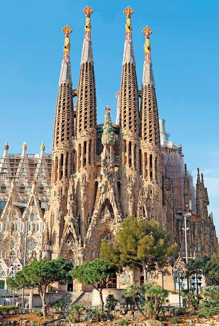 Sagrada Familia, Barcelona, 1883–1926