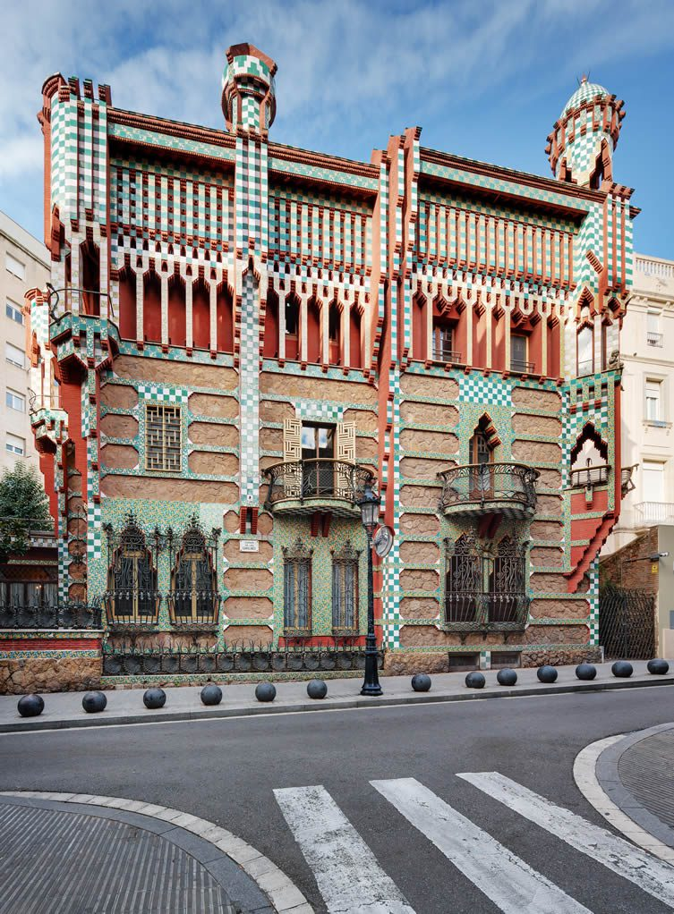 Casa Vicens, Gaudí's first building in Barcelona