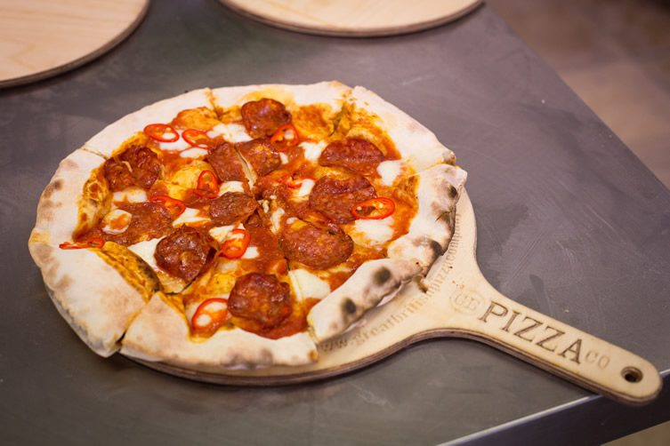 GB Pizza Co — Exmouth Market, London