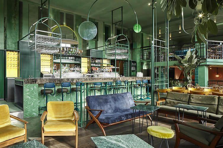 Bar Botanique by Studio Modijefsky