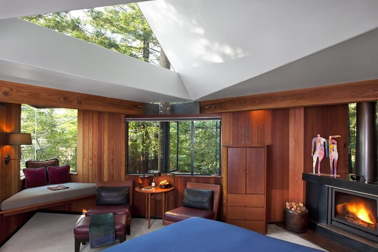 Upscale TreeHouse Hotel in Big Sur