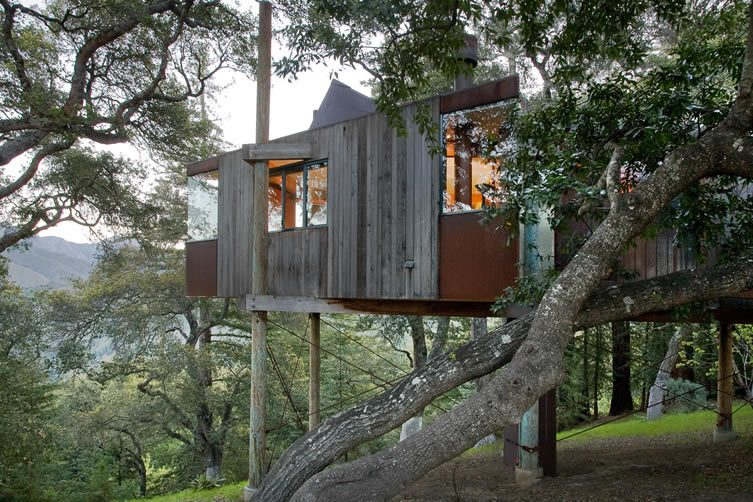 Upscale Tree House Hotel in Big Sur