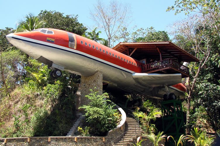 Boeing 727 Fuselage, Costa Rica