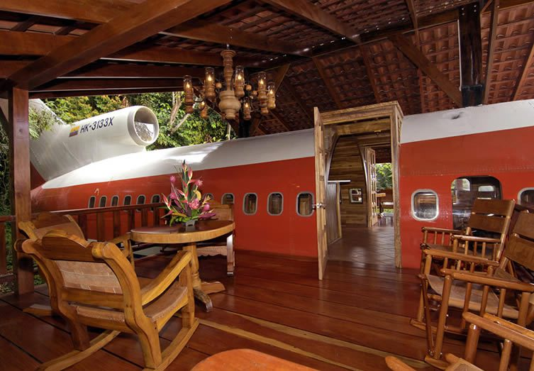 Boeing 727 Tree House Costa Rica