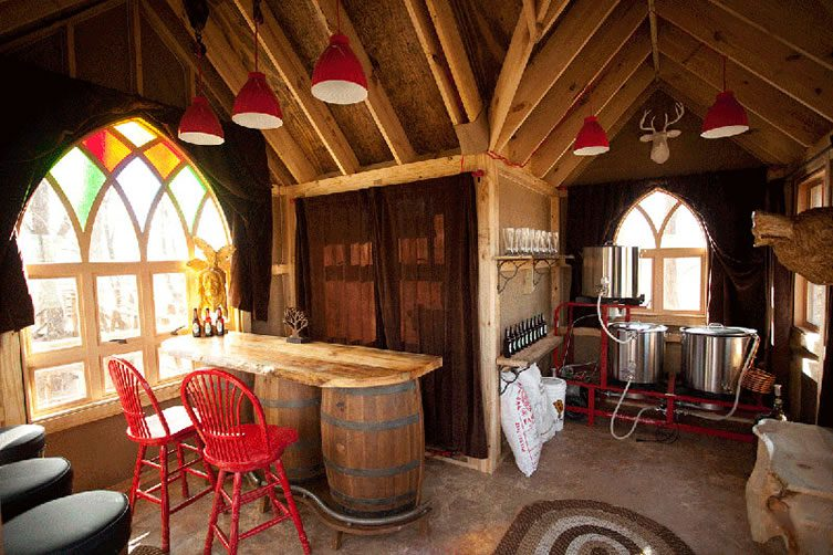 'Brew Haus' near Mohican State Park, Ohio