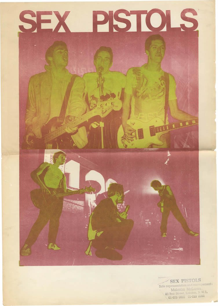 Sex Pistols ephemera