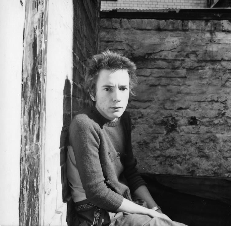 John Lydon as Johnny Rotten