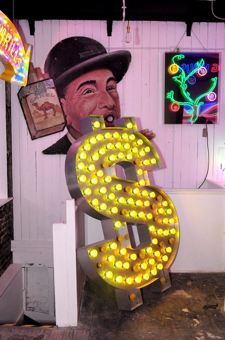 Chris Bracey's Gods Own Junkyard at Lights of Soho, London