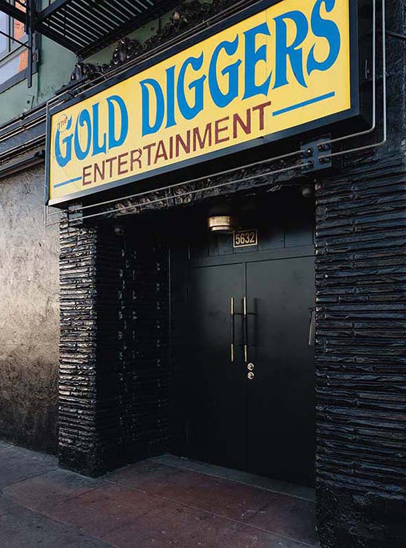 Gold Diggers Los Angeles, East Hollywood Design Hotel and Bar