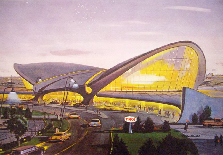 TWA Terminal, from the 1961 TWA Annual Report