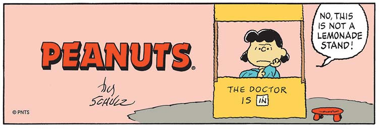 Detail of Peanuts 29.09.1996 © Peanuts