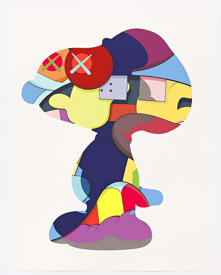KAWS, No One's Home, 2015. Courtesy of Pace Prints