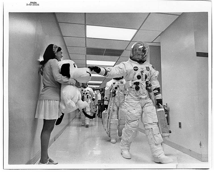 NASA, A Touch of Luck, 1969 Courtesy of NASA