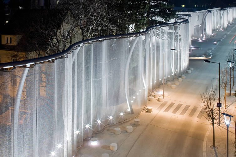Heaven Is a Place On Earth Swarovski Veil by Reginadahmeningenhoven is Winner in Lighting Products and Lighting Projects Design Category, 2016 - 2017.
