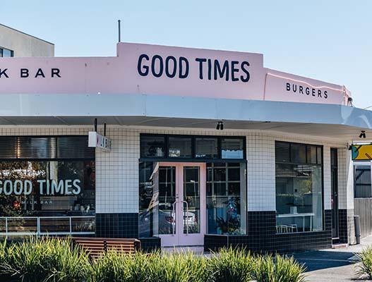 Good Times Milk Bar Bentleigh, Melbourne Café and Restaurant