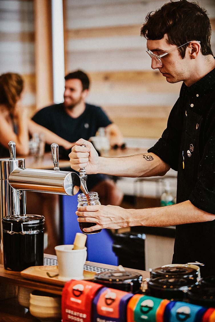 Greater Goods Coffee Austin