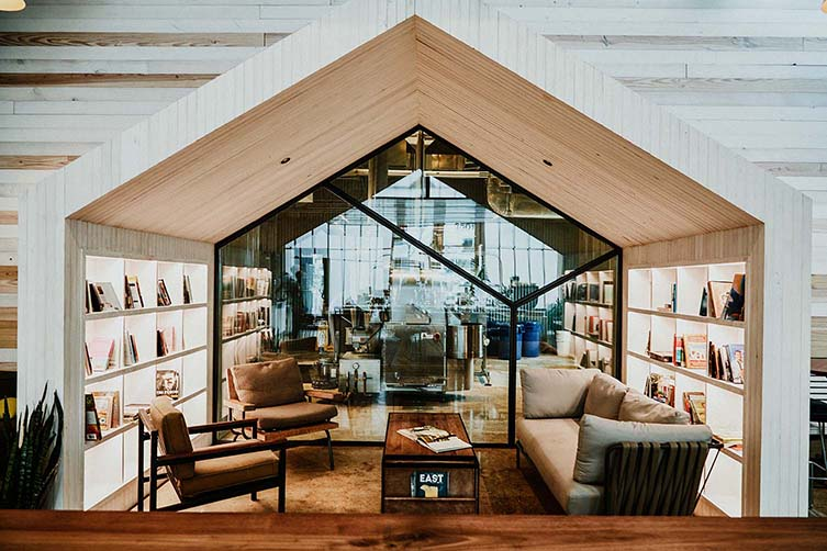 Greater Goods Coffee Roasting Co. Austin Flagship Designed by Michael Hsu