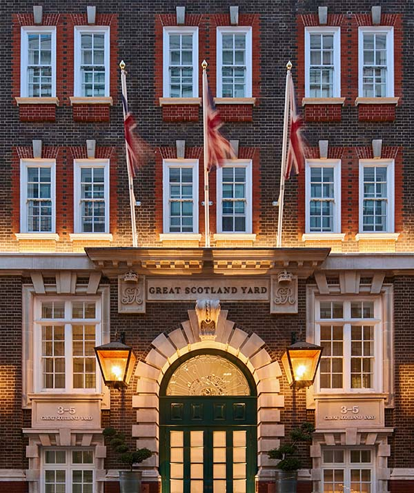Great Scotland Yard Hotel London, Westminster Hotel from The Unbound Collection by Hyatt