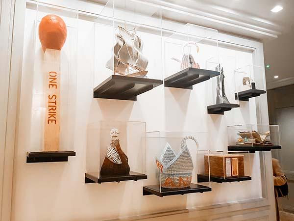 The Koestler Arts installation