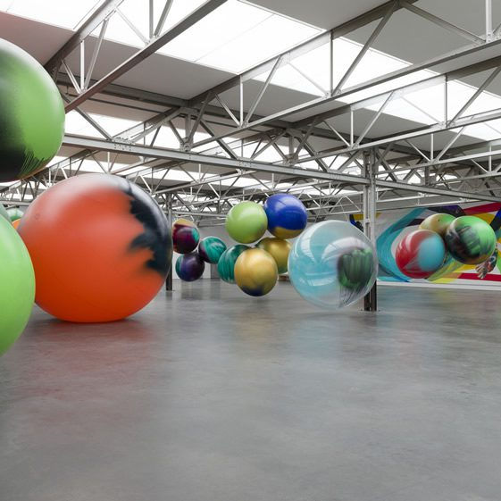Katharina Grosse's Epic New Installation